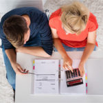 How to calculate qualifying income for a home mortgage loan.